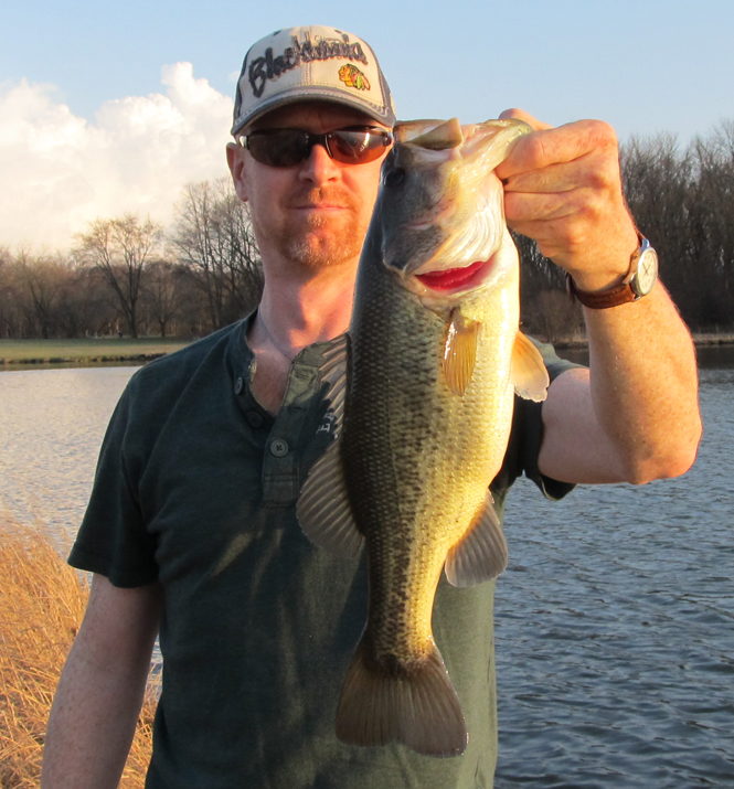Busse North Pool Largemouth Bass – March 16, 2012