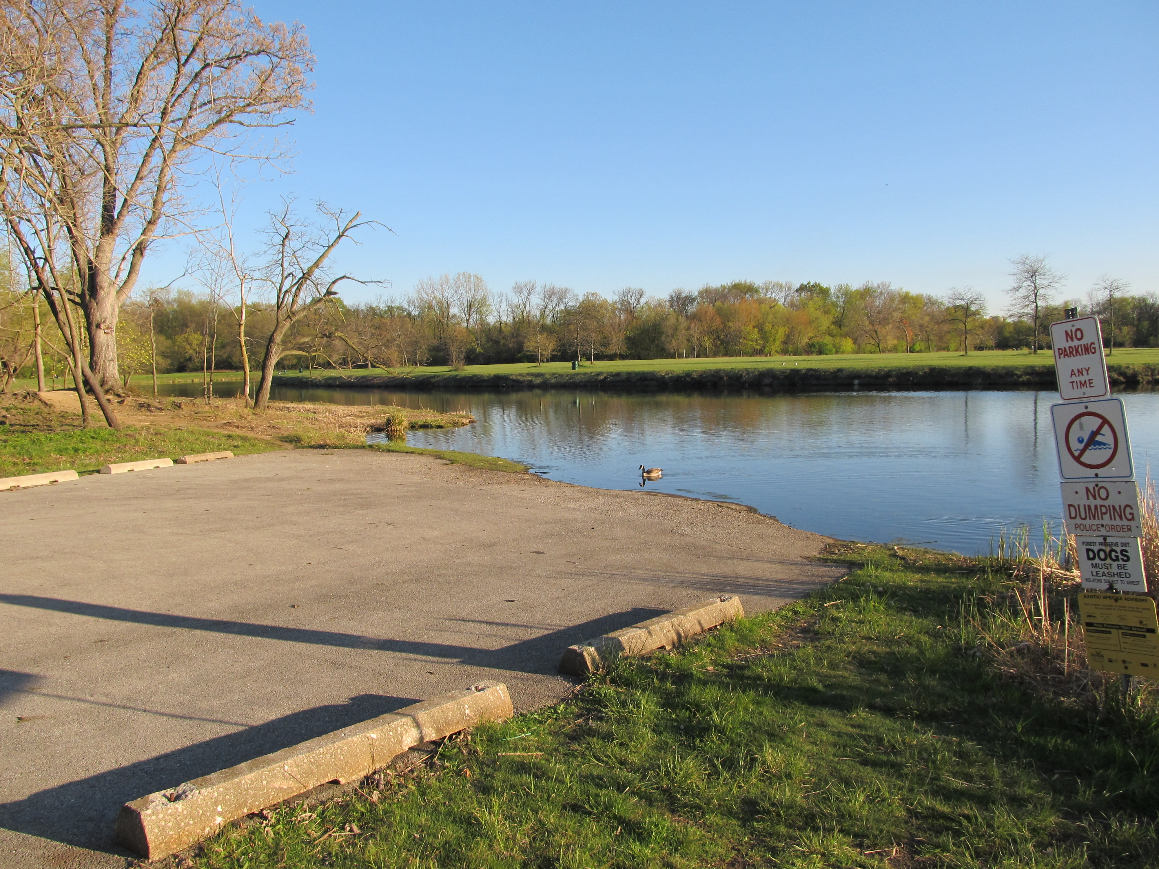 Big Bend Lake boat ramp – 2012